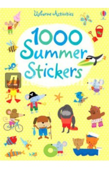 1000 Summer StickersИзучение иностранного языка<br>Choking Hazard Children will love this great title filled with dozens of holiday scenes to cover in stickers. With no text on the pages telling children how to fill a scene, little imaginations are allowed to run wild. Scenes include on the beach, playing in the water, a sunny park, a tropical island and in the outback. Extra stickers can be used on postcards, letters and envelopes.<br>