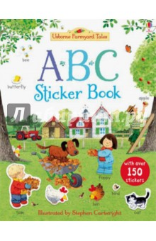 ABC Sticker BookАнглийский для детей<br>An interactive introduction to learning the alphabet for young children, with help from their favourite Farmyard Tales characters including Mrs Boot the farmer, her children Poppy and Sam, and Rusty the Dog.<br>Each farmyard picture encourages children to spot familiar items and complete the scene with the correct stickers - from apple to zoo and everything in between.<br>Children will love poring over the busy pictures and choosing from over 150 stickers whilst learning letter recognition, letter sounds and alphabetical order.<br>