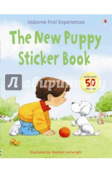 The New Puppy Sticker Book
