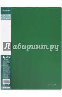 Папка А4, 20 файлов, AGATIS, зеленый (292720-05)Папки с прозрачными файлами<br>Папка.<br>Формат А4.<br>20 файлов.<br>Материал: пластик.<br>Сделано в Китае.<br>