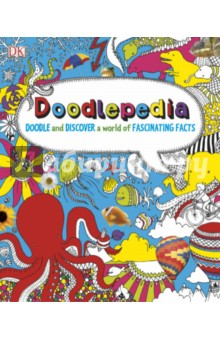 DoodlepediaИзучение иностранного языка<br>Once you ve taken out your pens and pencils, you won t want to put Doodlepedia down. Add your own drawings and scribbles to the amazing designs and images, and learn as you doodle. Each subject is brought to life with original photography and images on every page, from the wings of symmetry on a butterfly to what s on your tv.<br>Doodlepedia is a fact-packed drawing and colouring book that you will love, so use your imagination and get doodling!<br>
