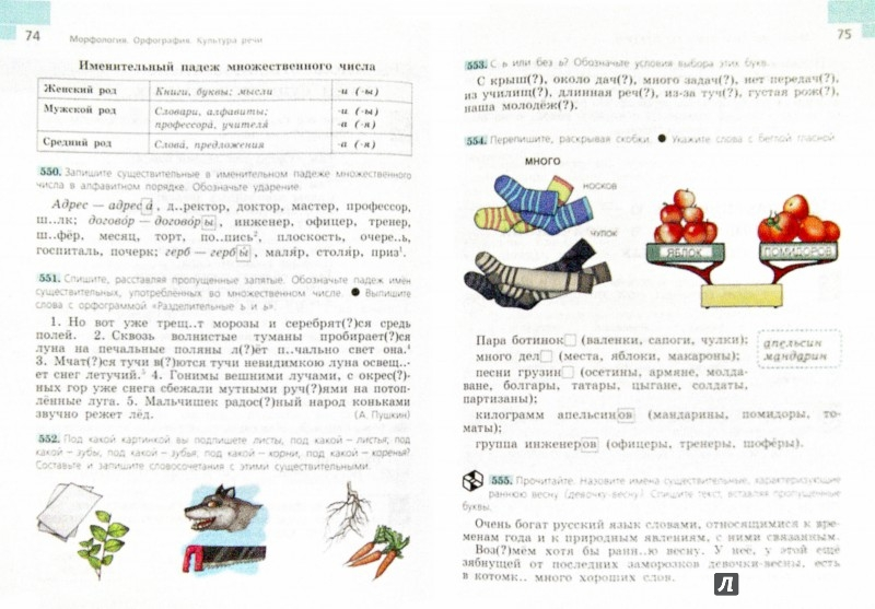 Иллюстрация 1 из 33 для Русский язык. 5 класс. Учебник. Часть 2. ФГОС - Таиса Ладыженская   Лабиринт - книги. Источник: Лабиринт
