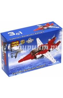 """Конструктор 3 в 1 """"Самолет, космолет, катер S"""" (MF004545)"""