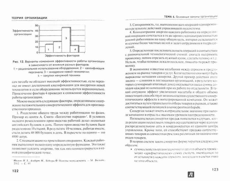 Иллюстрация 1 из 8 для Теория организации. Учебное пособие - Игорь Симоненко | Лабиринт - книги. Источник: Лабиринт