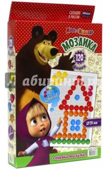 """Мозаика """"Маша и Медведь"""" (120 элементов, D 20 мм) (GT8672)"""