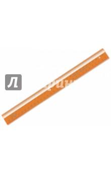 """Линейка закройщика """"NEON Cristal"""" (30 см, в ассортименте) (ЛН72) СТАММ"""