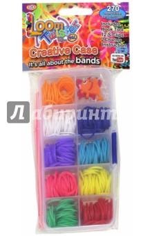 Набор для плетения браслетов из резинок (SV11789)Плетение из резиночек<br>Loom Twister. Набор из 6 подвесок на браслет.<br>Набор для плетения браслетов из резинок.<br>Комплектация: 270 штук разноцветных резинок, 12 соединительных S-клипс, 1 крючок, 2 брелока, инструкция по применению. <br>Состав: пластмасса, резина.<br>Для детей старше  8 лет.<br>Сделано в Китае.<br>