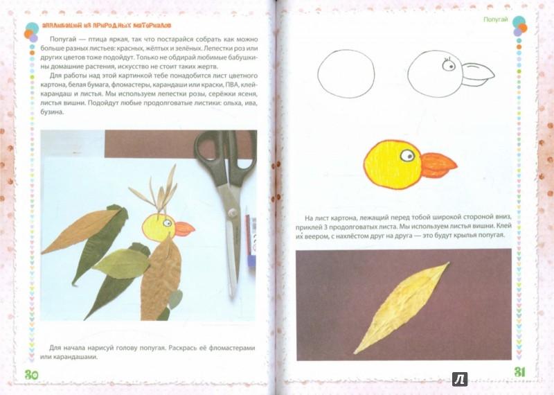 Иллюстрация 1 из 20 для Аппликация из природных материалов - Елена Крош | Лабиринт - игрушки. Источник: Лабиринт
