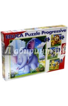 Настольная игра Животные Африки. Пазл (Educa)