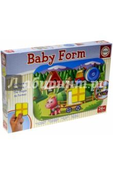Игра-пазл Формы (15862)Обучающие игры-пазлы<br>Научись различать и распознавать основные геометрические фигуры!<br>Коллекция  Baby Educa  стимулирует внимательность, развивает психомотрику, любопытство и воображение.<br>Состав: 4 доски и 12 элементов.<br>Материал: картон.<br>Упаковка: картонная коробка.<br>Для детей от 2 лет.<br>Сделано в Испании.<br>