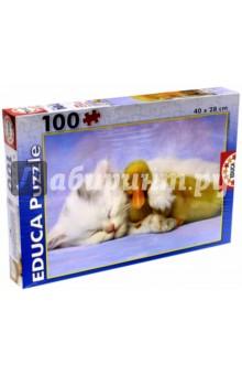 Пазл-100 Мой лучший друг (15909)Пазлы (100-170 элементов)<br>Пазл-мозаика.<br>100 элементов.<br>Размер картинки:40 х 28 см.<br>Материал: картон.<br>Упаковка: картонная коробка.<br>Сделано в Испании.<br>