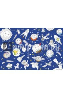 Солнечная система. Большая раскраскаРаскраски<br>Большая раскраска! Настенная, напольная, настольная - используйте как больше нравится! Можно рисовать гуашью, акварелью, пальчиковыми красками, фломастерами, карандашами.<br>Размер: 101 х 69см.<br>Материал: мелованный картон.<br>
