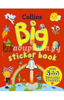 Young Learners Big Sticker BookИзучение иностранного языка<br>Over 500 crazy, colourful, reusable stickers will let you play and learn fun new facts about the planets, world countries their flags and your favourite animals. Discover amazing places from around the world. Go on an amazing adventure through the solar system. Learn about all your favourite animals. Have fun designing flags, space rockets and planets. Full of colour Collins big sticker collection will capture the imagination of children. It is a perfect combination of learning and fun.<br>
