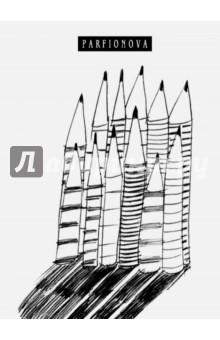 Блокнот для записей 12 карандашей, А5Блокноты большие нелинованные<br>Блокнот для записей.<br>Формат: А5<br>Количество листов: 80<br>Бумага: офсет<br>Без линовки<br>Крепление: книжное (прошивка)<br>Переплет: твердый<br>Два ляссе.<br>Сделано в России.<br>
