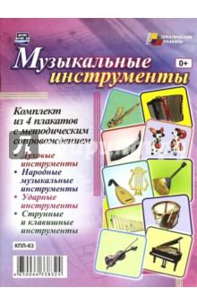 Комплект плакатов. Музыкальные инструменты. ФГОС ДО
