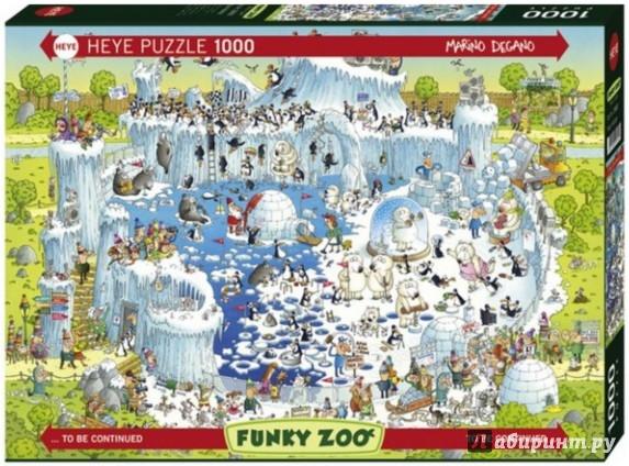 """Иллюстрация 1 из 8 для Puzzle-1000 """"Полярный зоопарк, Degano, Classics"""" (29692)   Лабиринт - игрушки. Источник: Лабиринт"""