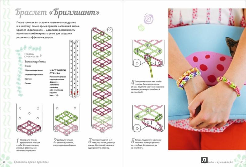 Схема для плетение резинок