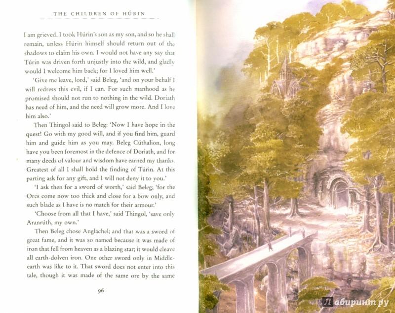 Иллюстрация 1 из 29 для The Children of Hurin - Tolkien John Ronald Reuel | Лабиринт - книги. Источник: Лабиринт