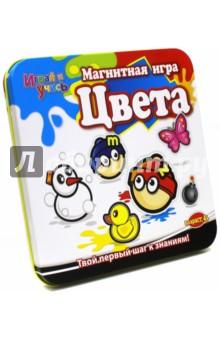 Магнитная игра Цвета. Mack and Zack (MT016)Другие игрушки для малышей<br>Магнитная игра MACK&amp;amp;ZACK Фигуры - это обучающий набор для самых маленьких. Ребенок сможет узнать как выглядят 2-х мерные и даже трехмерные фигуры и научится их отличать.<br>В набор входит: 30 игровых элементов, 1 волчок и подробная инструкция<br>Не рекомендовано детям младше 3-х лет. Содержит мелкие детали. <br>Возрастная группа: от 5 лет<br>Материал: пластмасса, металл, магнит <br>Страна происхождения: Китай<br>