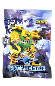 Конструктор Star Beetle. ZORG, 12 элементов (60334)Конструкторы из пластмассы и мягкого пластика<br>Конструктор Star Beetle. ZORG.<br>Состоит из 12 элементов.<br>Изготовлено из пластмассы.<br>Для детей старше 7-ми лет.<br>Сделано в России.<br>