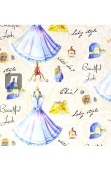 """Бумага упаковочная """"Голубое платье"""" (39495) Феникс-Презент"""