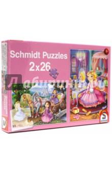 """Пазл 2*26 """"Marchenhafte Prinzessinnen"""" (56126)"""