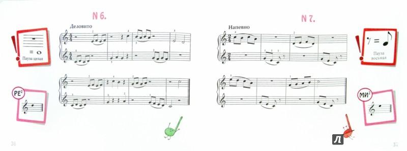 маленькому музыканту пианино знакомство с нотами