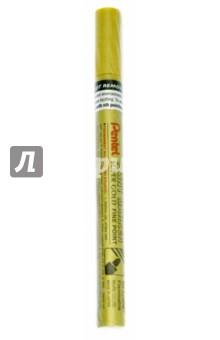 Маркер перманентный Paint (2,9 мм, золото) (MSP10-X)Декоративные маркеры, мелки<br>Маркер-краска перманентный в металлическом корпусе. Быстросохнущий маркер-краска с плотной текстурой надписи. Металлический противоударный корпус. <br>Пулеобразный тонкий наконечник. Подходит для письма на резине, металле, стекле, пластике.<br>Для декорирования различных предметов.<br>Состав не содержит вредных веществ.<br>Цвет чернил: золотой.<br>Толщина линии: 2,9 мм.<br>Корпус: металл<br>Длина письма: 310 м.<br>Сделано в Японии.<br>