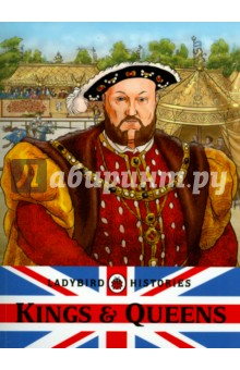 Kings and Queens of EnglandИзучение иностранного языка<br>An educational book all about Englands Kings and Queens from Ladybird.<br>Ladybird Histories: Kings and Queens is the ideal first reference book for primary school children. It is packed with information about Englands monarchs in chronological order, including King Henry VIII, Queen Elizabeth I, and Queen Victoria, all the way up to the present day.<br>Full of fascinating facts, this handy book will help schoolchildren with their history studies.<br>Includes a weblink to a free downloadable chart showing a timeline of Kings and Queens of England.<br>Ladybird publishes the very best books for babies and toddlers - colourful and engaging, they encourage early interaction with books and the wider world. Watch your little one have fun and learn with Ladybird from their very first book until they start school.<br>Look out for all the classic Ladybird series - there is a Ladybird book for every age and every stage.<br>