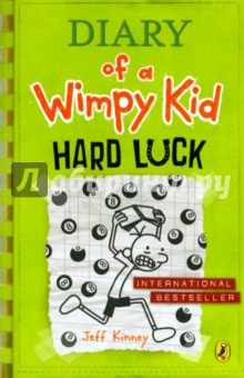 Diary of a Wimpy Kid. Hard LuckЛитература на иностранном языке для детей<br>Greg Heffley s on a losing streak. His best friend, Rowley Jefferson, has ditched him, and finding new friends in middle school is proving to be a tough task. To change his fortunes, Greg decides to take a leap of faith and turn his decisions over to chance. Will a roll of the dice turn things around, or is Greg s life destined to be just another hard-luck story? It is perfect for readers of 8+ and also reluctant readers. You can also discover Greg on the big screen in any one of the three Wimpy Kid Movie box-office smashes.<br>