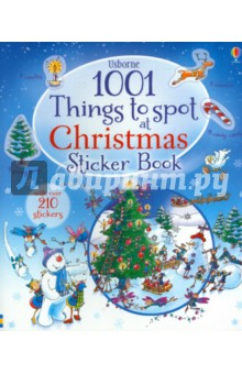 Join Santa Claus and his team during the most magical holiday of the year, with 1001 festive Christmas things to find on the way. Little spotters can keep track of all their finds using the stickers in the middle of the book.