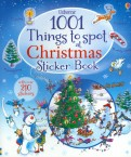 1001 Things to Spot at Christmas. Sticker Book
