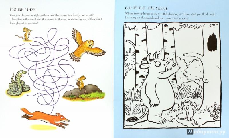 Иллюстрация 1 из 22 для The Gruffalo Activity Book | Лабиринт - книги. Источник: Лабиринт