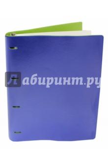 """Тетрадь на кольцах """"Copybook"""" со сменным блоком (200 листов, А4+, сине-салатовая) (37940)"""