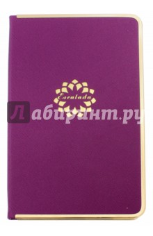 """Ежедневник недатированный """"Кросс"""" (192 страницы, твердая обложка, фиолетовый) (38989-20) Феникс+"""