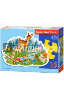 """Puzzle-15 """"Маленький олененок"""" (В-015115)"""