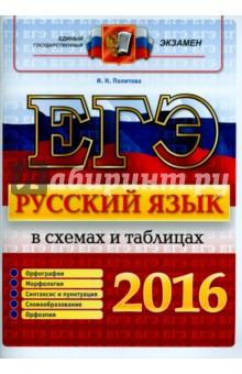 ЕГЭ 2016. Русский язык. В схемах и таблицах