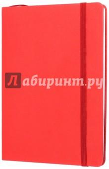 Тетрадь Копибук (КРАСНАЯ, 96 листов, А5, клетка, закрывается на резинку) (38938-15)