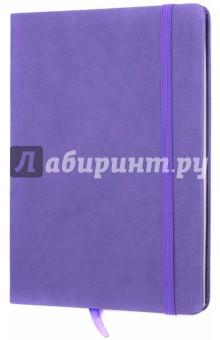 Тетрадь Копибук (СИРЕНЕВАЯ, 96 листов, А5, клетка, закрывается на резинку) (38941-15)