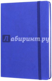 Тетрадь Копибук (СИНЯЯ, 96 листов, А5, клетка, закрывается на резинку) (38943-15)