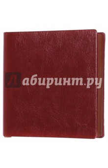 Ежедневник-мини недатированный А6-, Пристин, бордовый (39765-30) Феникс+