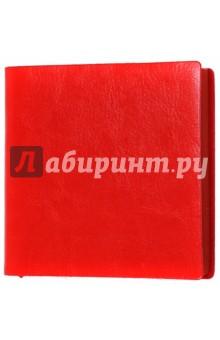 Ежедневник-мини недатированный А6-, Пристин, красный (39767-30)