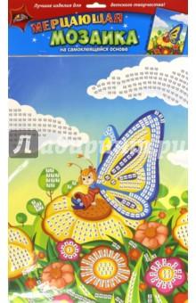 "Мозаика мерцающая самоклеящаяся ""Бабочка"", А3 (С1573-17)"