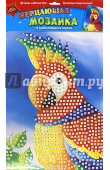 "Мозаика мерцающая самоклеящаяся ""Попугай"", А3 (С1573-25) АппликА"