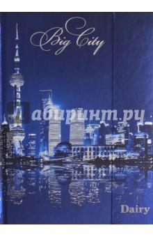 """Ежедневник недатированный """"Ночной мегаполис"""" (с клапаном, 80 листов) (39124-20) Феникс+"""