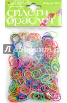Набор ярких резинок для плетения браслетов, 600 шт. (21-600/01)