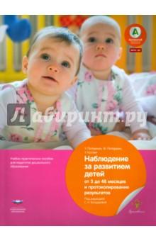 Наблюдение за развитием детей от 3 до 48 месяцев и протоколирование результатов. ФГОС ДО