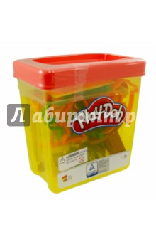 Набор для лепки игровой Контейнер с инструментами (B1157)Наборы для лепки с игровыми элементами<br>Игровой набор Контейнер с инструментами Play-Doh от Hasbro обязательно понравится маленьким любителям лепки. Этот набор представляет из себя большой контейнер, в котором ваш малыш найдет 5 баночек с разноцветным пластилином Плей-До и огромное множество формочек, трафаретов и прочих инструментов для создания всевозможных поделок.<br>Пластилин Play-Doh создан из пищевых компонентов, благодаря чему он абсолютно безопасен для здоровья маленьких детей. Кроме того, пластилин не липнет к рукам, не оставляет следов на одежде, а также имеет приятный запах.<br>Контейнер с инструментами Play-Doh подарит вашему ребенку увлекательный, интересный, а также полезный игровой процесс, во время которого он будет развивать фантазию и мелкую моторику.<br>Содержит пшеницу.<br>