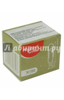 Скрепки 25 мм., металлические. 100 штук в коробке (039610) MAPED