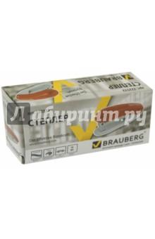 Степлер №10 красный (222532) Brauberg